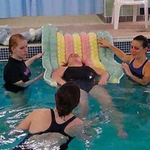 Image of Floatsation Aid being used in a training session