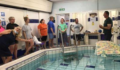 Funding Floatsation Aid Training Session Group